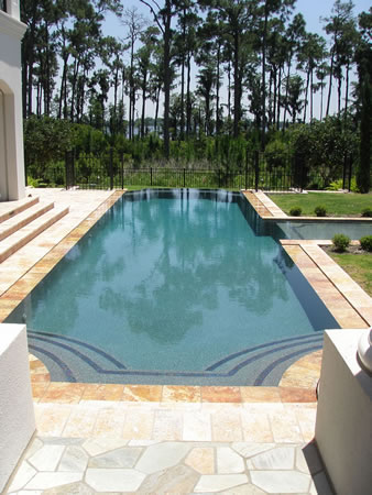 Zero Edge Pool Design